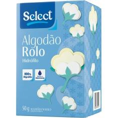Algodão Hidrófilo Rolo Select 50g