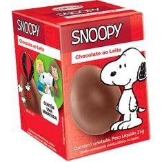 Ovo de Chocolate ao Leite Snoopy Top Cau 25g
