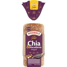 Pão de Forma Chia Macadâmia Wickbold 400g