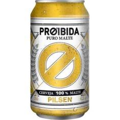 Cerveja Puro Malte Pilsen Proibida 350ml