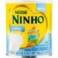 Leite em Pó Instantâneo Semidesnatado Ninho Levinho Forti+ 350g