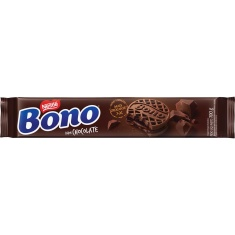 Biscoito Recheado Sabor Chocolate Bono 100g