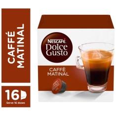 Cápsula Caffé Matinal Nescafé Dolce Gusto 16 Unidades 144g