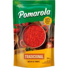 Molho de Tomate Tradicional Sachê Pomarola 320g