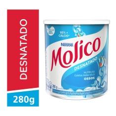Leite em Pó Desnatado Total Cálcio Molico 280g