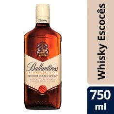 Whisky Escocês Finest Ballantines 750ml
