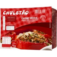 Carne Moída Bovina Congelada Chuletão 1kg