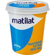 Manteiga Extra Sem Sal Matilat 500g