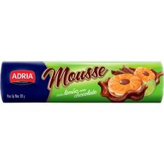 Biscoito Recheado Mousse Limão com Chocolate Adria 130g