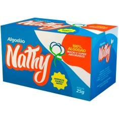 Algodão Hidrófilo Caixa Nathy 25g