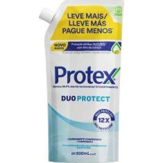 Sabonete Líquido Antibacteriano para as Mãos Duo Protect Protex Refil 500ml
