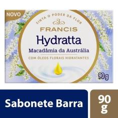 Sabonete em Barra Macadâmia da Austrália Francis Hydratta 90g