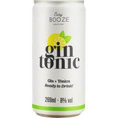 Bebida Mista Alcoólica Gaseificada Gin + Tônica Easy Booze 269ml