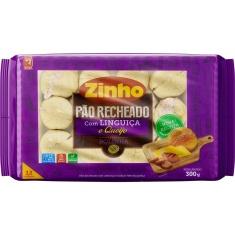 Pão Bolinha Linguiça Toscana Queijo Zinho Pacote 300g