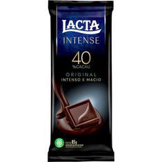 Chocolate 40% Cacau Original Intense Lacta 85g