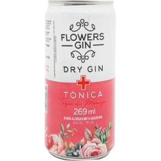 Gin Tônica Sabor Morango Flowers 269ml