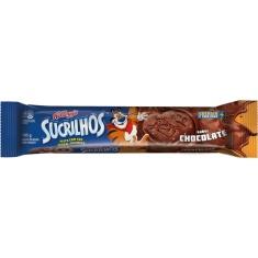 Biscoito Recheado Sabor Chocolate Sucrilhos Kelloggs 105g