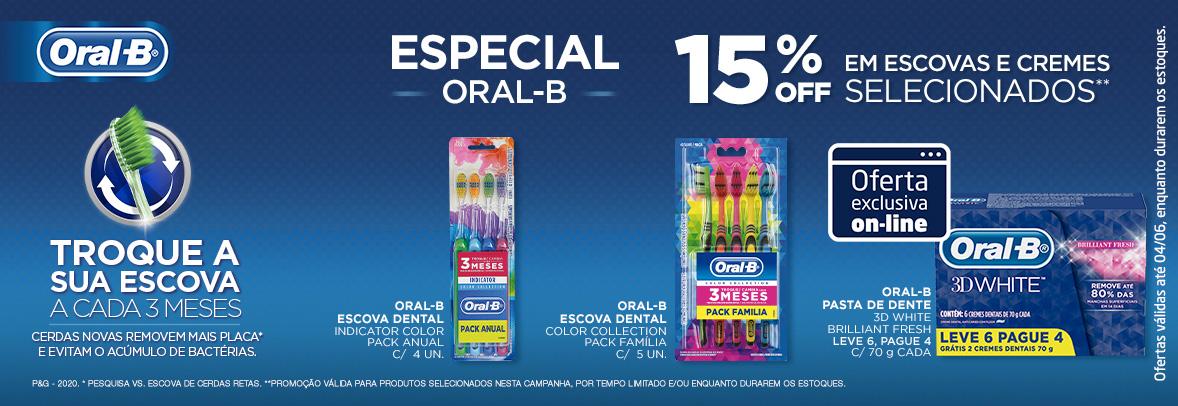 Home - Especial Oral-B