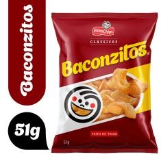 Salgadinho Baconzitos 55g