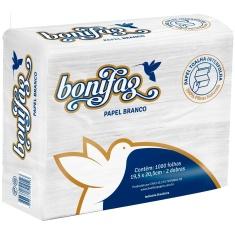 Toalha Interfolha Bonifaz Branco 19,5x20,5cm 1000un.