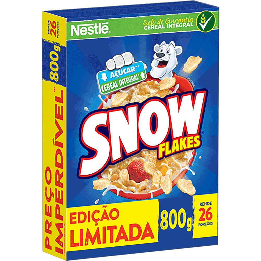 Cereal Matinal Integral Nestlé Snow Flakes 800g