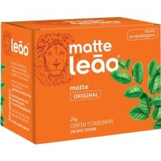 Chá Mate Natural Leão 24g