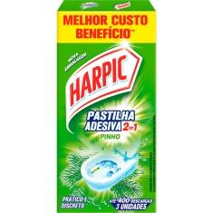 Pastilha Adesiva Pinho Harpic 2 em 1 9g
