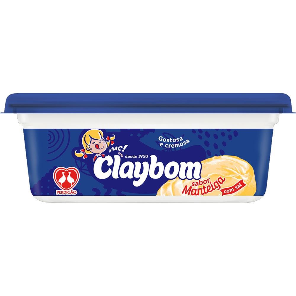 Margarina com Sal Sabor Manteiga Claybom 250g