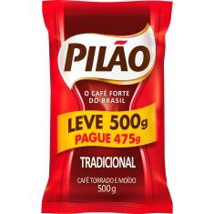 Café Tradicional Pilão Leve 500g Pague 475g