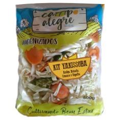 Kit de Legumes para Yakissoba Higienizado 500g